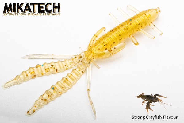 MIKATECH Real Shrimp 7,5 cm Olympic Gold