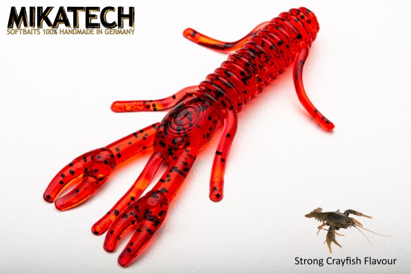MIKATECH Real Craw 8 cm Bloody Red