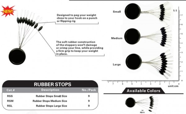 VIKE Rubber Stops Large