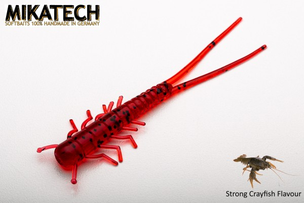 MIKATECH Real Insect 7,5 cm Bloody Red