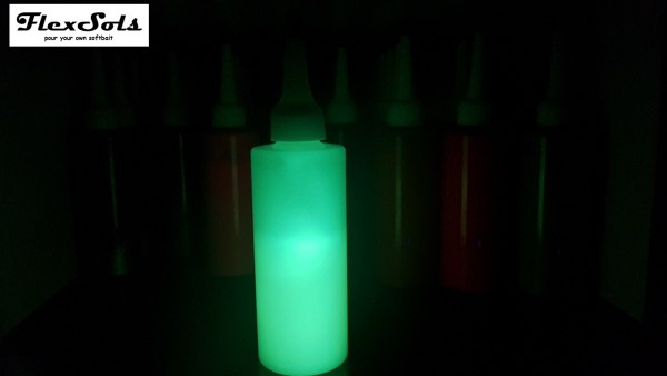 FlexSols UV Glow in the dark Plastisolfarbe 100g
