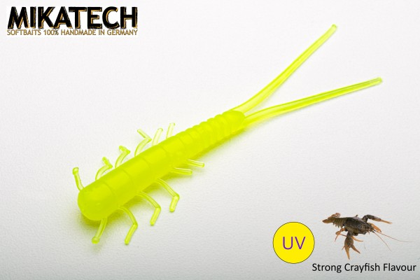 MIKATECH Real Insect 7,5 cm Classic Chartreuse UV