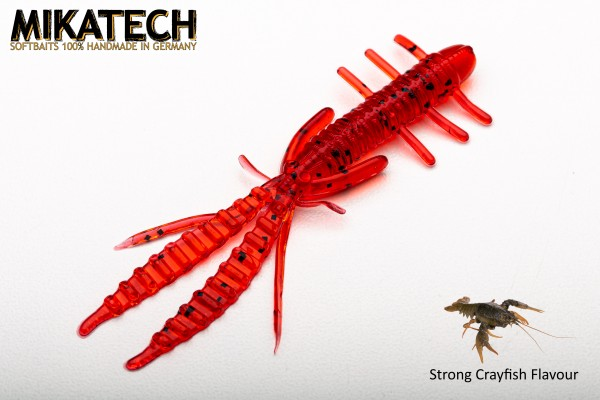 MIKATECH Real Shrimp 7,5 cm Bloody Red