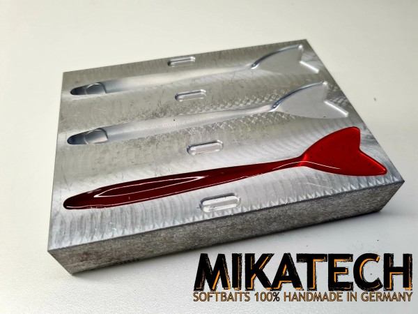 Alu Form MIKATECH Real V-Shad 12,5cm 3 Gussnester