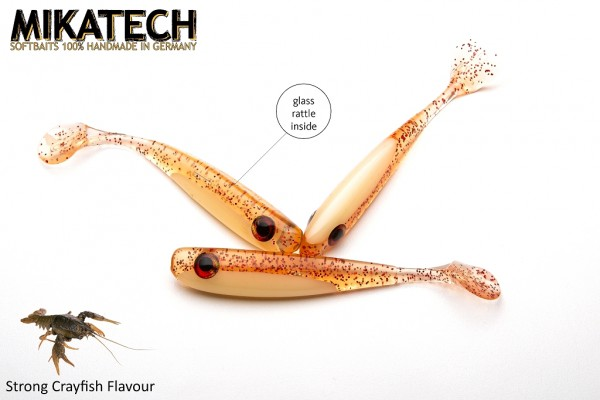 MIKATECH Real Shad 10 cm Zombie limited