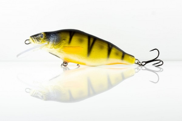 Forge of Lures Yellow Perch 11cm Handmade Wobbler